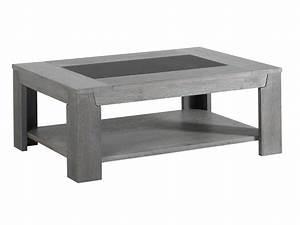 Table Basse Bois : table basse en bois et verre table basse ovale en bois maisonjoffrois ~ Teatrodelosmanantiales.com Idées de Décoration