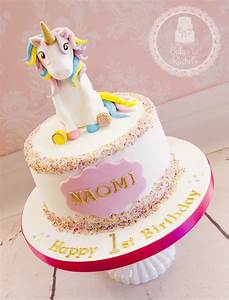 Little Unicorn Cake - CakeCentral com
