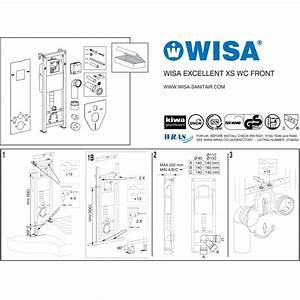 Wisa Spülkasten Reparieren : wisa xs wc vorwand element trockenbau einbau wand toilette ~ Michelbontemps.com Haus und Dekorationen
