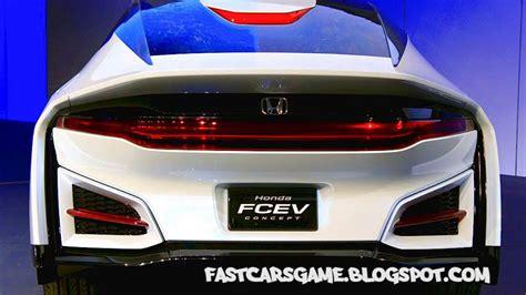 Honda Future Cars by 2015 Honda Fcev Concept Future Cars