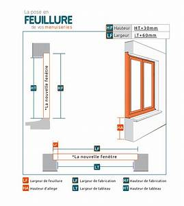 Pose Fenetre En Feuillure : pose fenetre feuillure elegant pose en with pose fenetre ~ Dailycaller-alerts.com Idées de Décoration