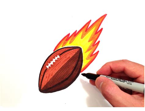 football drawing  getdrawings