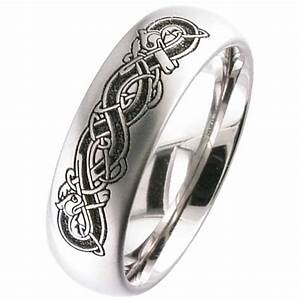 titanium celtic wedding ring titanium men39s partner With titanium celtic wedding rings