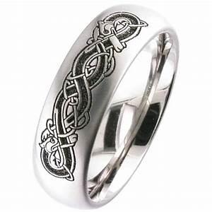 titanium celtic wedding ring titanium men39s partner With celtic titanium wedding rings