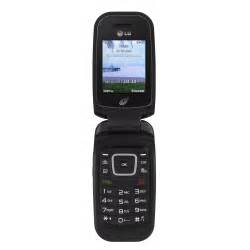 Straight Talk LG 440G Prepaid Cell Phone, Black