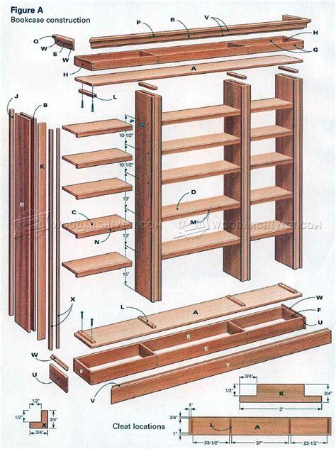 diy bookcase furniture plans bookcase diy wood
