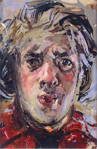 Self Portrait Aged Lenkiewicz Paintings Robert