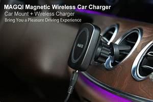 Handyhalterung Auto Wireless Charging : magqi wirelessly charge your phone everywhere indiegogo ~ Kayakingforconservation.com Haus und Dekorationen