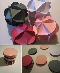 Origami Boule De Noel : fiche cr ative n 1 boule de no l en papier instants papiers ~ Farleysfitness.com Idées de Décoration