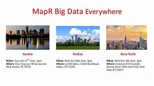 MapR big data everywhere