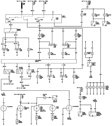 Jeep Cj5 Headlight Switch Wiring Diagram by Repair Guides Wiring Diagrams Wiring Diagrams