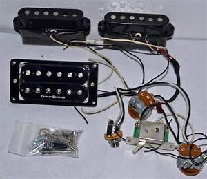 Jackson Dk2 Skull Guitar Pickups  U0026 Wiring Harness Duncan