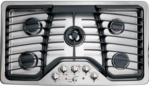 ge pgpsetss   gas cooktop   sealed burners  btu tri ring burner precise