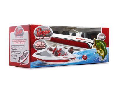 Remote Control Fishing Boat Bass Pro by Fishin Pal Wrestle The Big Fish