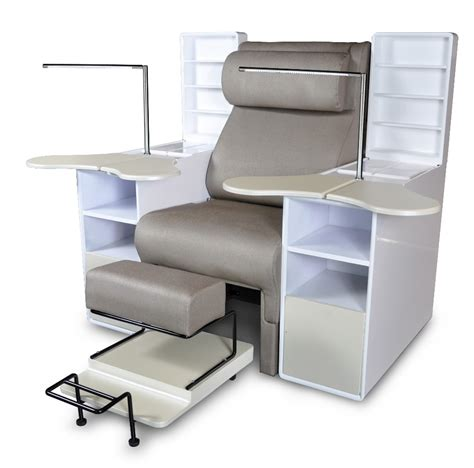 used salon furniture white pipeless used spa pedicure