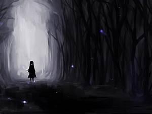 Alone In The Dark Forest HD Wallpaper Wallpaper Studio