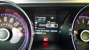 2014 Ford Mustang - Fuel Economy Settings - YouTube