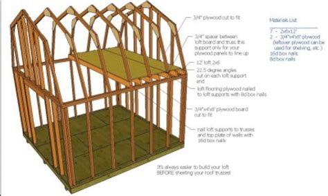 mirrasheds how to build a shed 8x6
