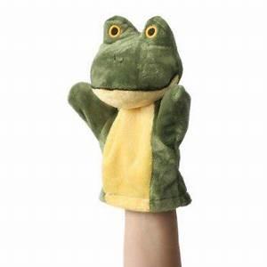 Marionnette à Main : marionnette color e main pour b b grenouille verte marionnettes enfants ~ Teatrodelosmanantiales.com Idées de Décoration