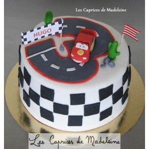 didi cuisine le gâteau cars et le circuit de voitures cars birthday
