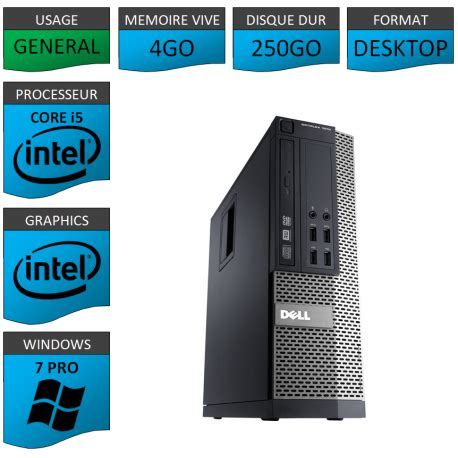 ordinateur i5 le top sous windows 7 pro