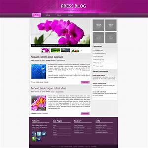 free html website templates source code download free With free html blog templates code