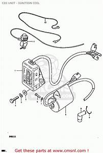 Suzuki Rm80 1980  Xt  Cdi Unit - Ignition Coil