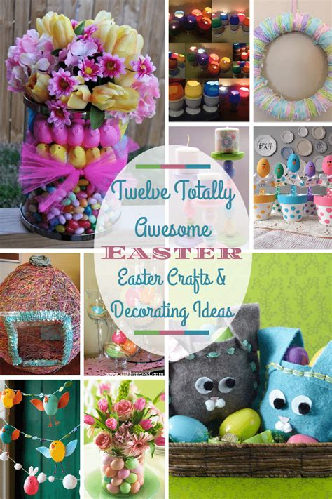 twelve easter crafts decorating ideas  diy fun