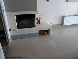 Enduit Béton Ciré : b ton cir gris clair1 http ~ Premium-room.com Idées de Décoration