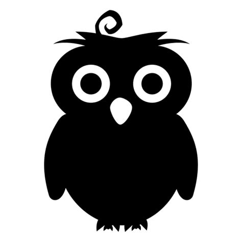 pin  ibe chung  product owl silhouette owl cartoon