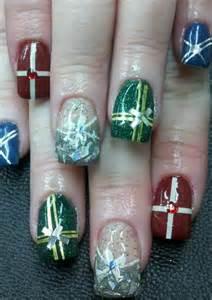 Christmas holiday nail art designs nails