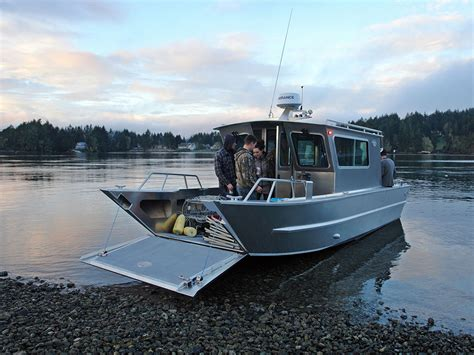 Boat And Landing by Landing Craft With Cabins Handmade By Silver Streak