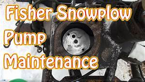 Diy Fisher Minute Mount Snow Plow Maintenance Clogged