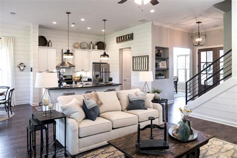 Living Room Decor Fixer by Fixer Farmhouse Style Living Rooms 4 In 2019