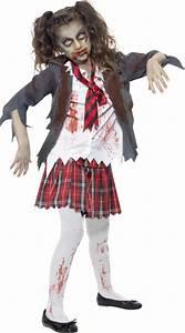 Déguisement Enfant Halloween : d guisement zombie coli re fille halloween deguise toi achat de d guisements enfants ~ Melissatoandfro.com Idées de Décoration