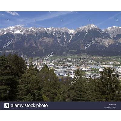 Innsbruck Nordkette Mountain Stock