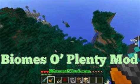 biomes  plenty mod