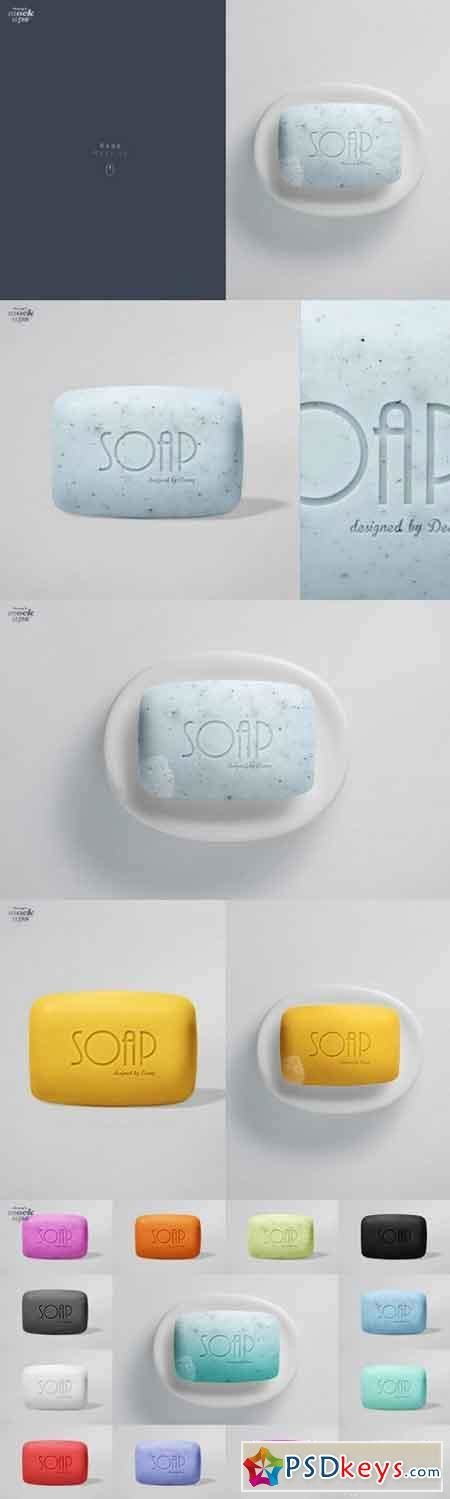These mockups offers different smart objects to change the soap and box design, you can easily change the color of every element to make it so as you like. Soap Mockup 637607 » Free Download Photoshop Vector Stock ...