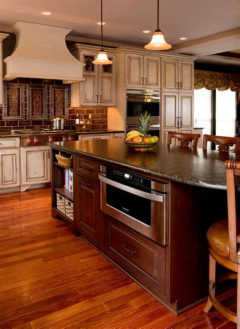 Painted Kitchen Cabinet Ideas - country kitchens designs remodeling htrenovations