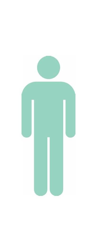 Male Symbol Mint Stick Figure Clip Clipart