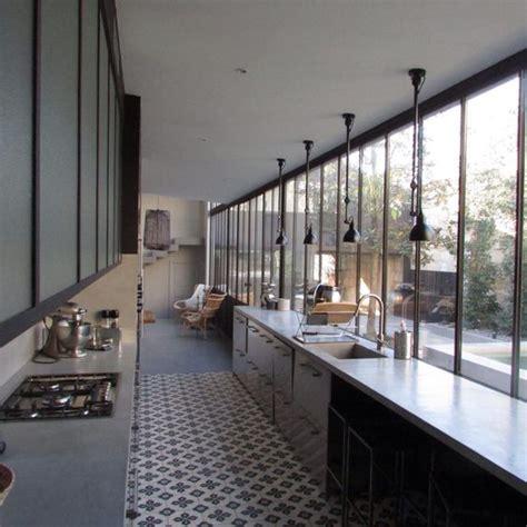 cuisine en verriere cuisine verrière kitchen industriel