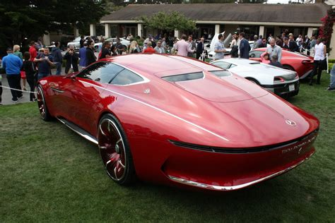 mercedes maybach vision  picture  car