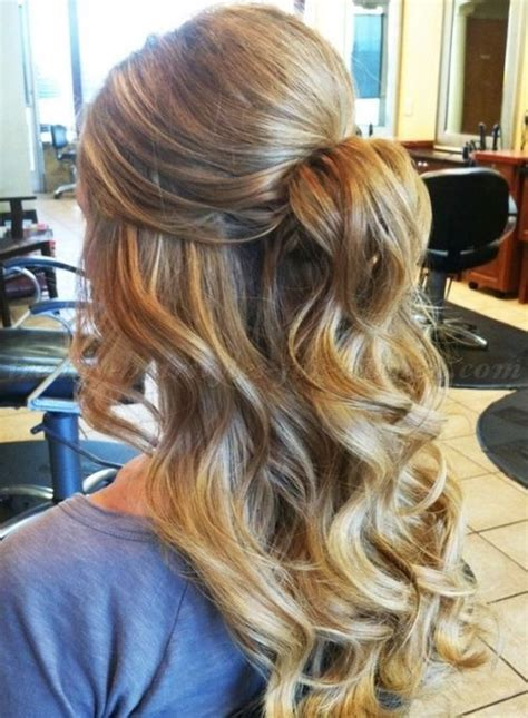 50 gorgeous half up half down hairstyles perfect for prom