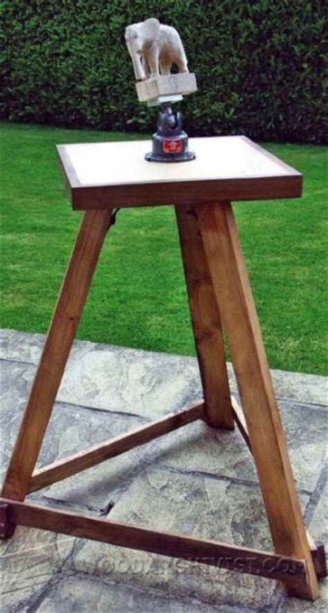 Wood Carving Bench Plans • Woodarchivist