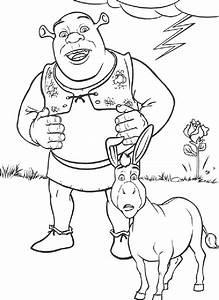 shrek coloring pages 3   rajz   Pinterest   Shrek, Craft ...