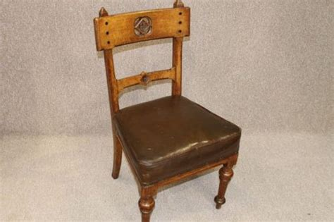 31554 arts and crafts style furniture splendid oak arts crafts library chair antiques atlas
