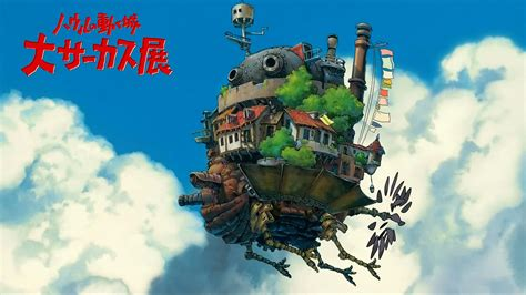 Howl S Moving Castle Wallpaper Widescreen Howl 39 S Moving Castle Full Hd Wallpaper And Background Image 1920x1080 Id 420257