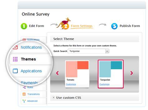 free online survey maker questionnaire builder