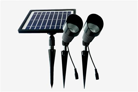 commercial solar spot lights solar lights