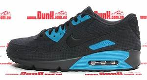 Nike Air Max 90 Anthracite Black Neon Turquoise